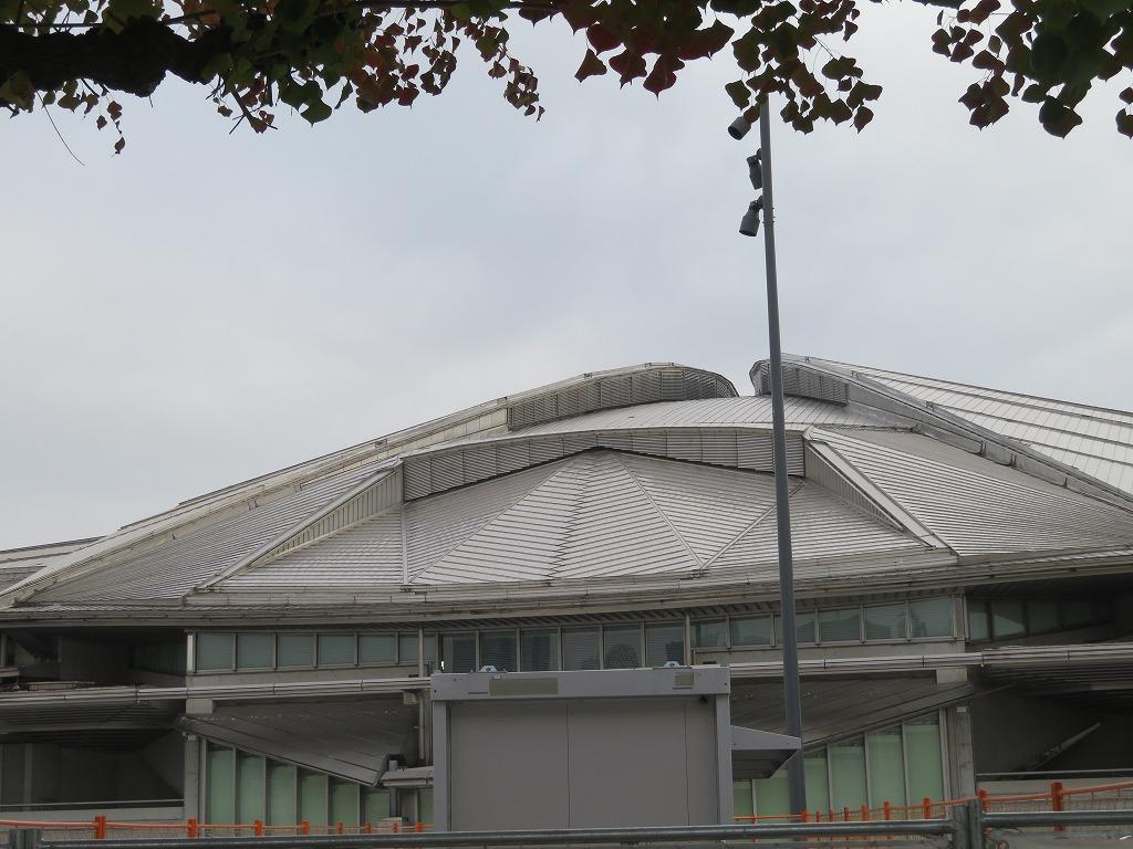 東京体育館(体操 ⇒ 卓球予定)