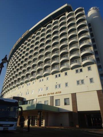 鹿児島での宿は「サンロイヤルホテル」ロッテ球団キャンプの定宿
