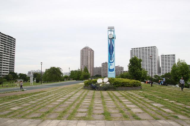 昼食会場 汐入公園