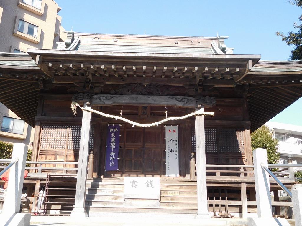 ANWでは初めて驚神社に参拝します