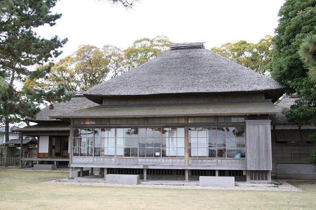 伊藤博文初代内閣総理大臣 の別邸 明治31年に建てられ平成21年復元