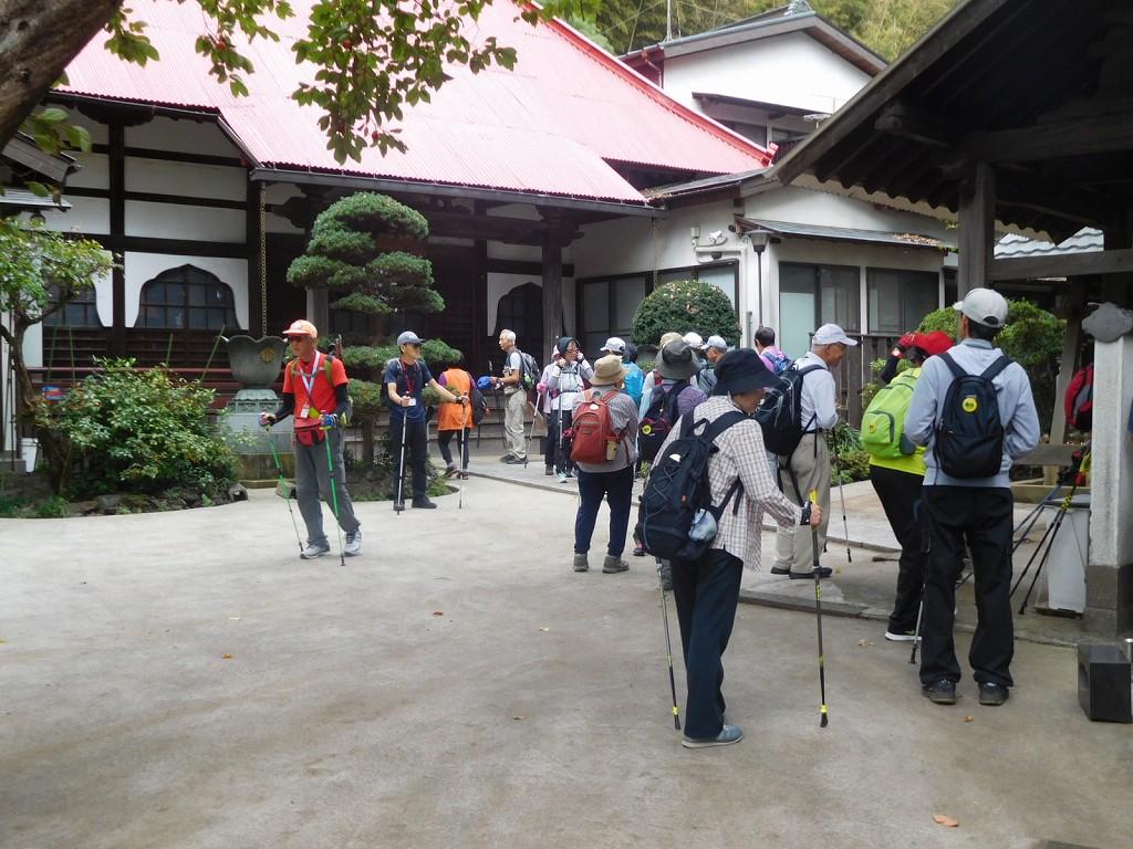 「宗泉禅寺」到着、お参りし水分・糖分補給
