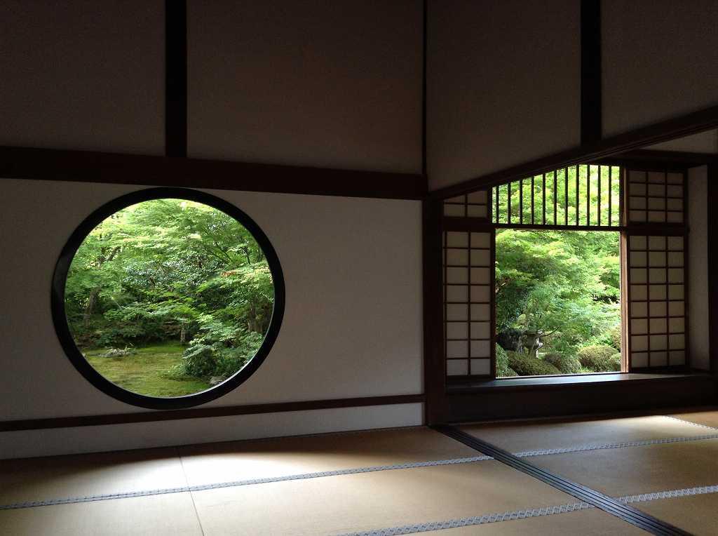 源光庵 「悟りの的」「迷いの窓」