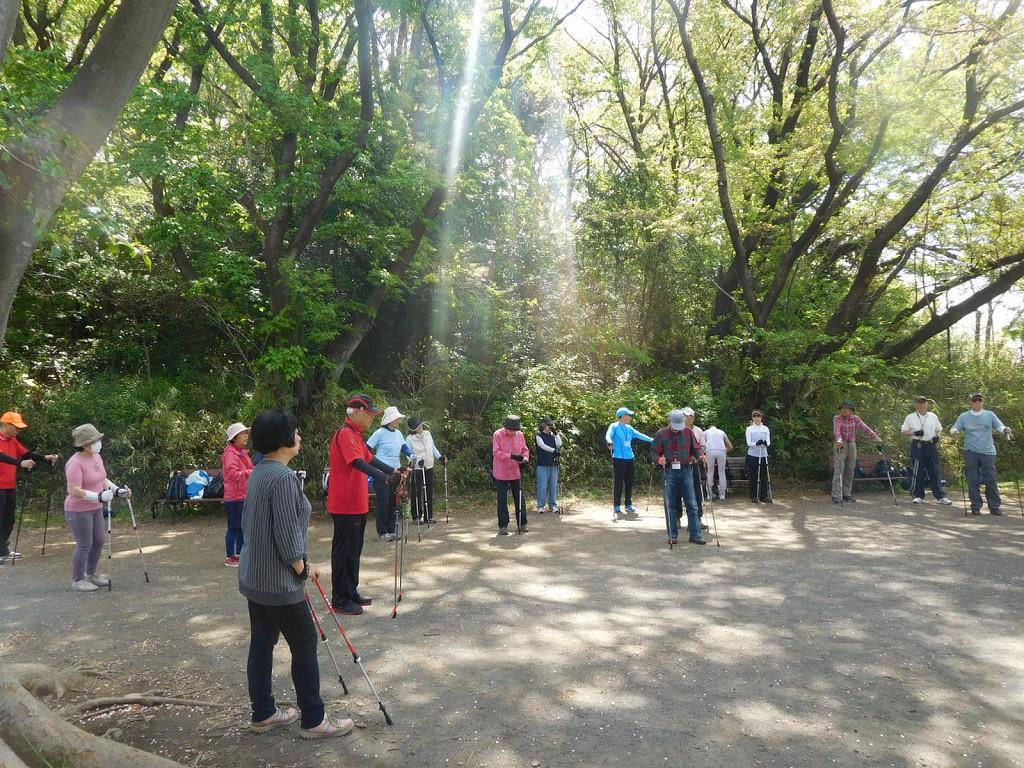 市ヶ尾町公園 4月30日平成最後の日に「こどもの国」でNW開催決定