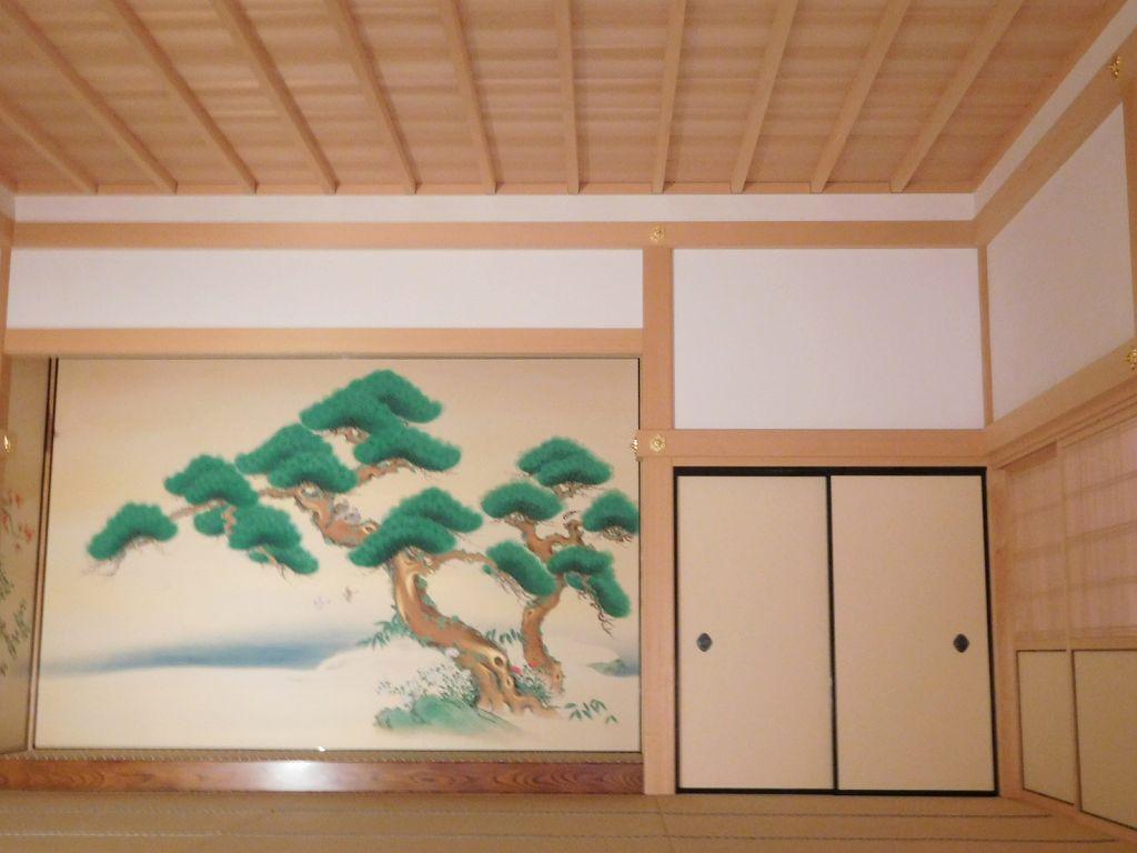 藩主が身内や家臣との対面の部屋で4部屋からなる