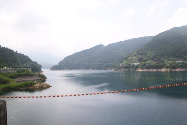 宮ケ瀬湖の貯水量はまだまだ余裕があるようです
