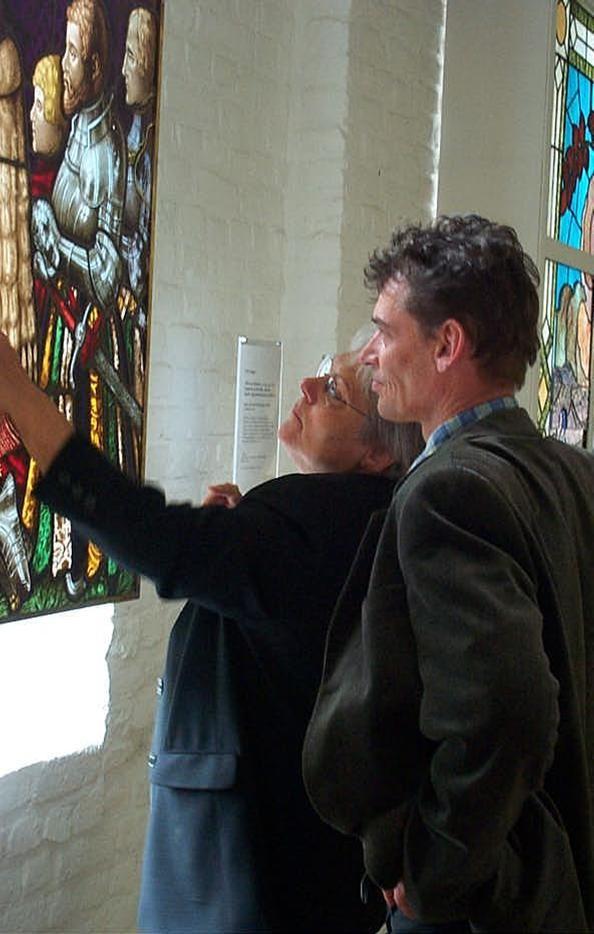 werkbezoekje Glasmuseum Linnich