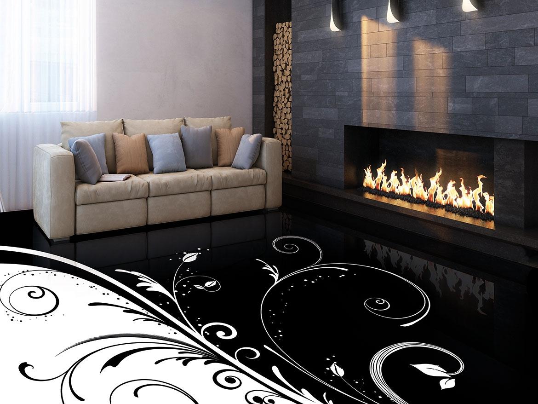 3d Fußboden Wohnzimmer ~ Beispiele für d böden d kies