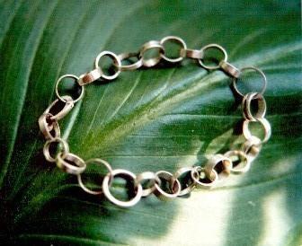 Silberoesen Armband