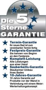 5 Sterne Garantie