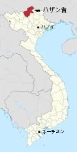 ベトナム全土の地図