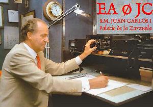 KING JUAN CARLOS EA0JC