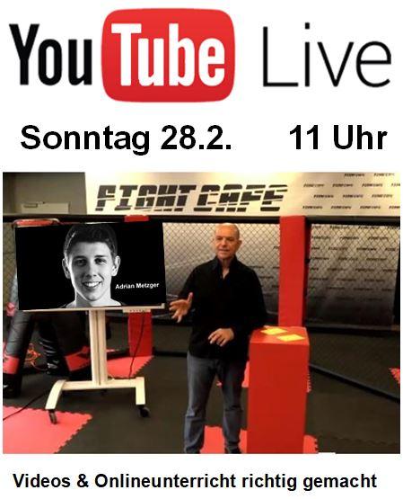 Videos & Liveunterricht richtig gemacht