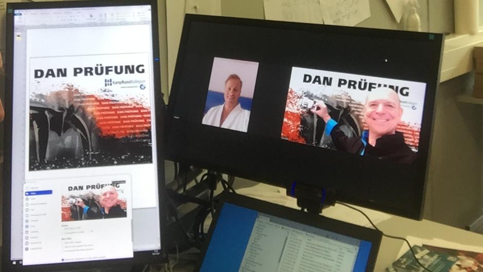 Online Dan-Prüfung in Dubai