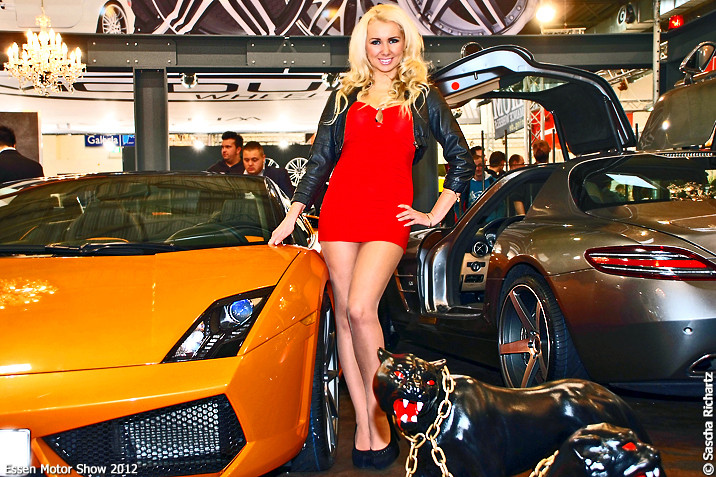 Cars & Girls · Essen Motor Show 2012