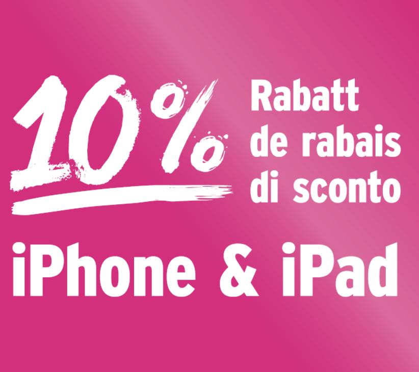 Heute bestellt die Schweiz iPhones & iPads