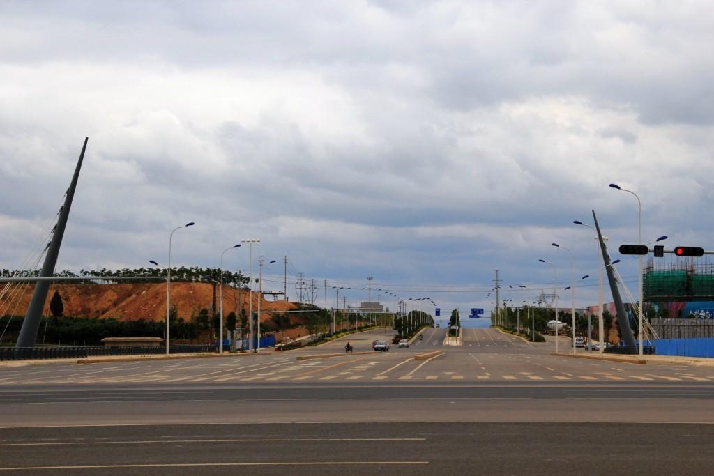 """Ville fantôme"" de Chenggong - Chengong ""ghost town"""