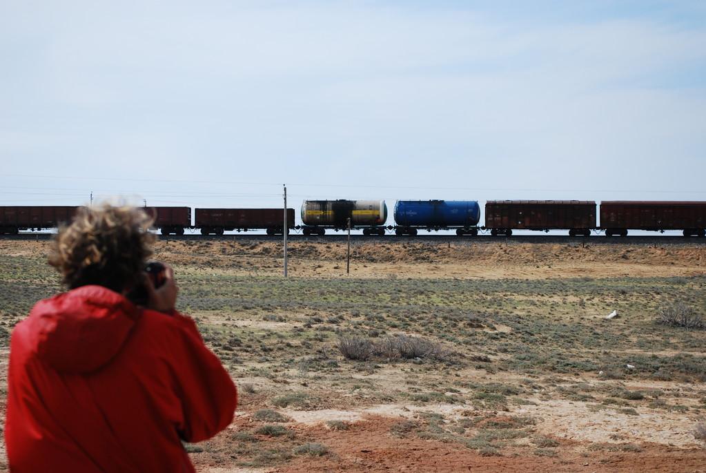 Des wagons et wagons de pétrole qui traversent le pays