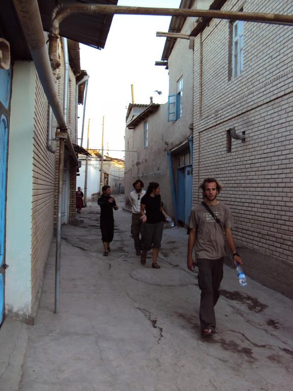 Dans les ruelles à Boukhara