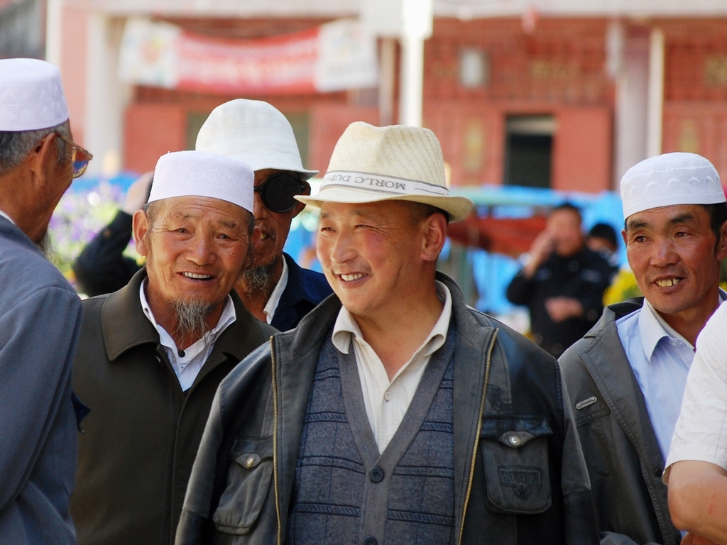 Visages des habitants de Songpan