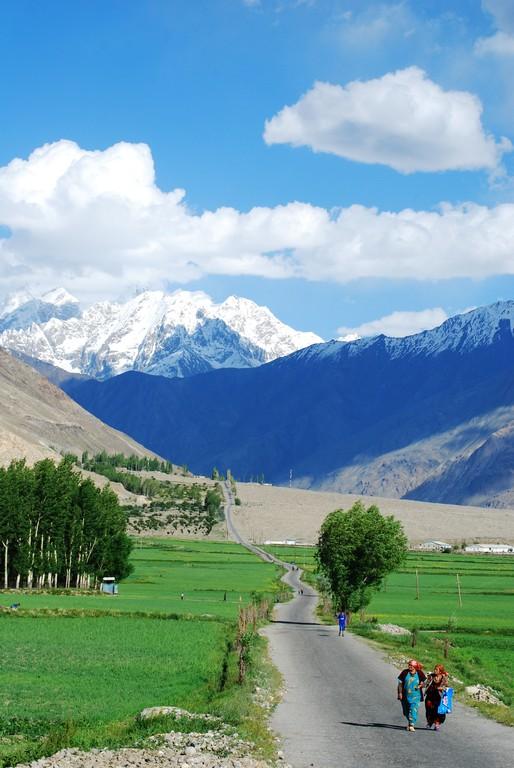 Vallée de Wakhan, après Ishkashim
