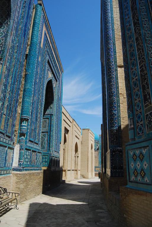 Nécrolpole Shah-i-Zinda, Samarcande
