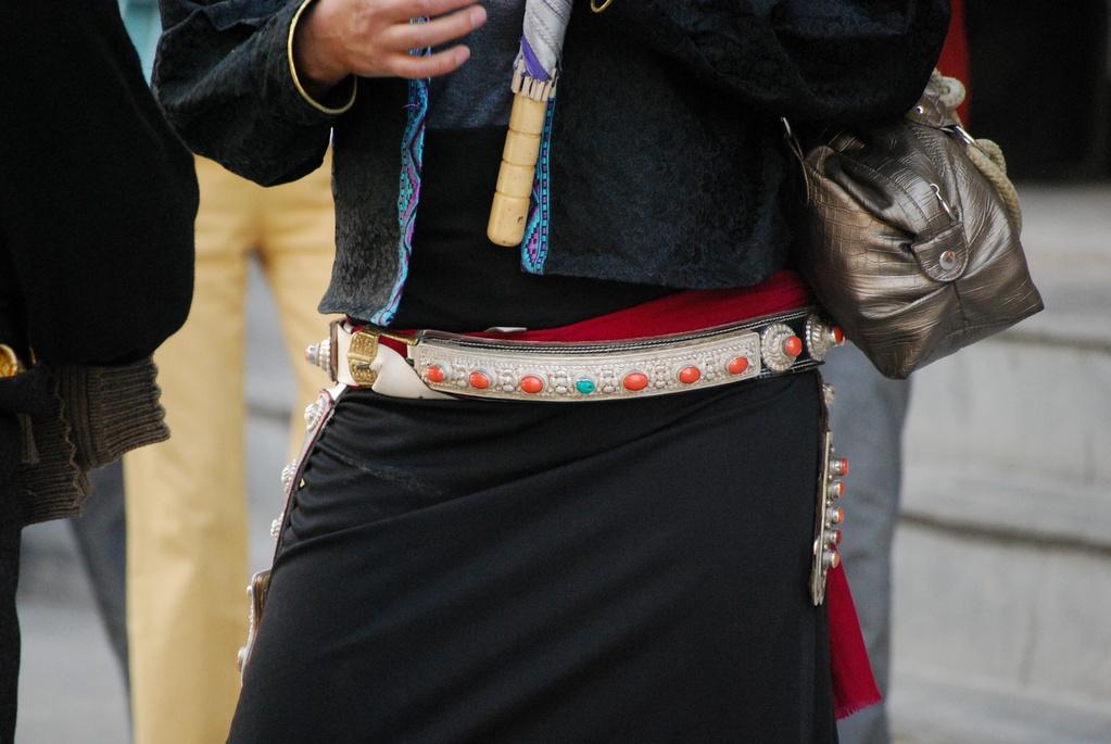 Ceinture de femme tibétaine