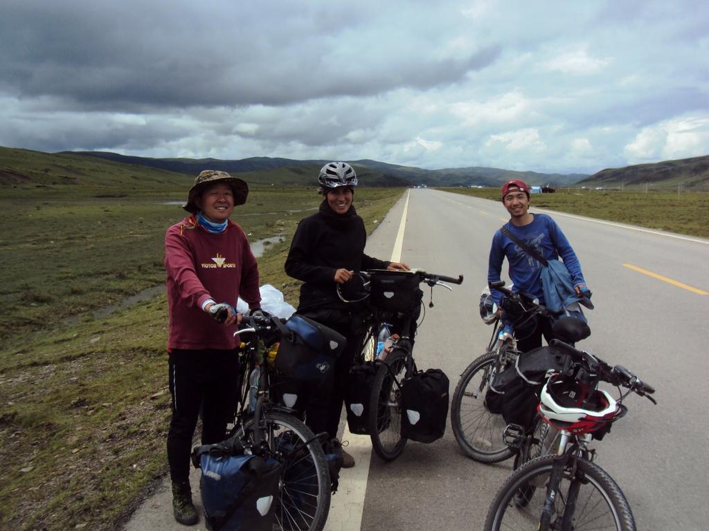 Rencontre de chinois en vacances à vélo