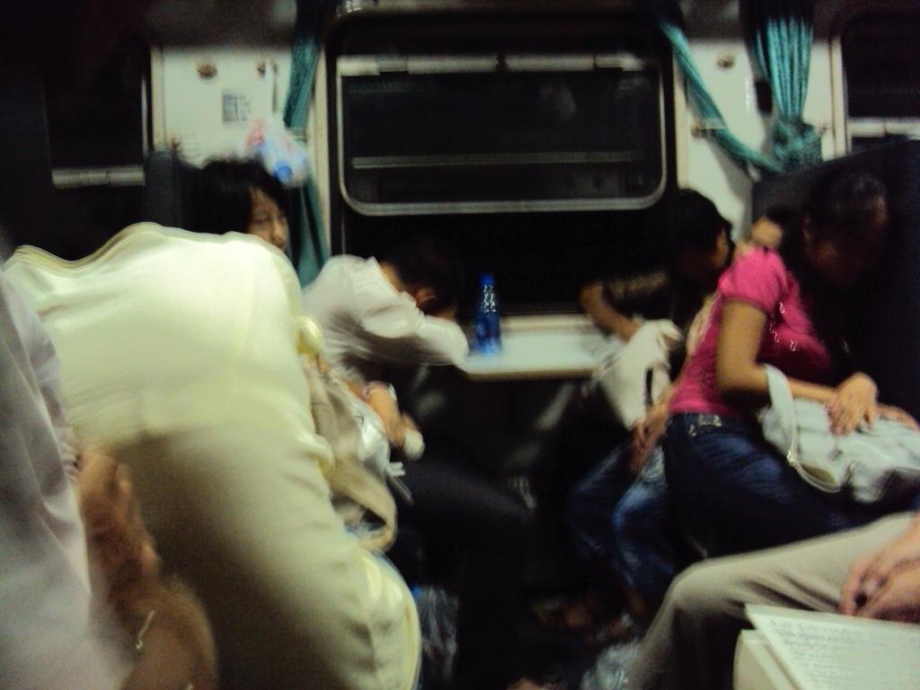Nuit dans le train