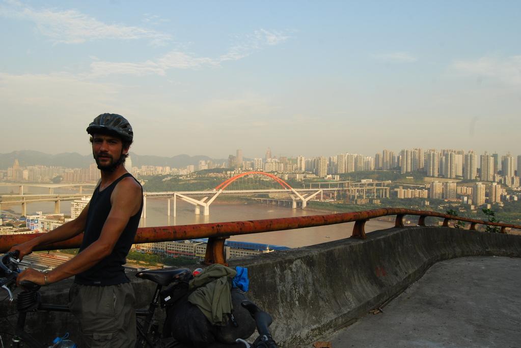 Arrivée à Chongqing