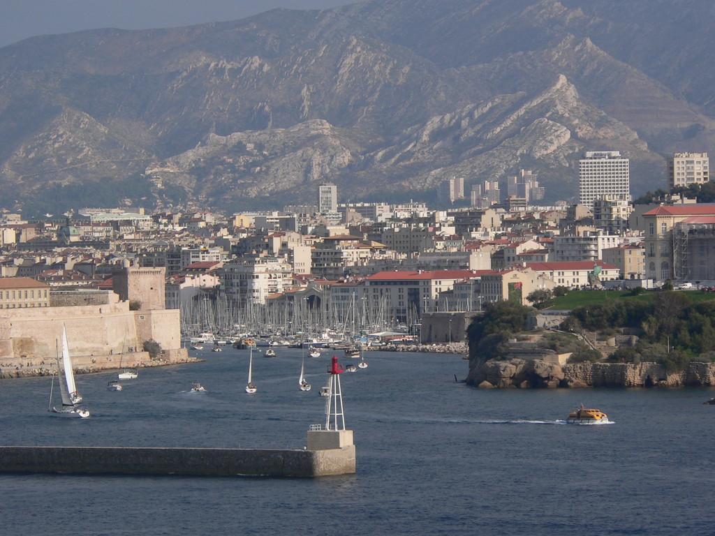 Le port de Marseille