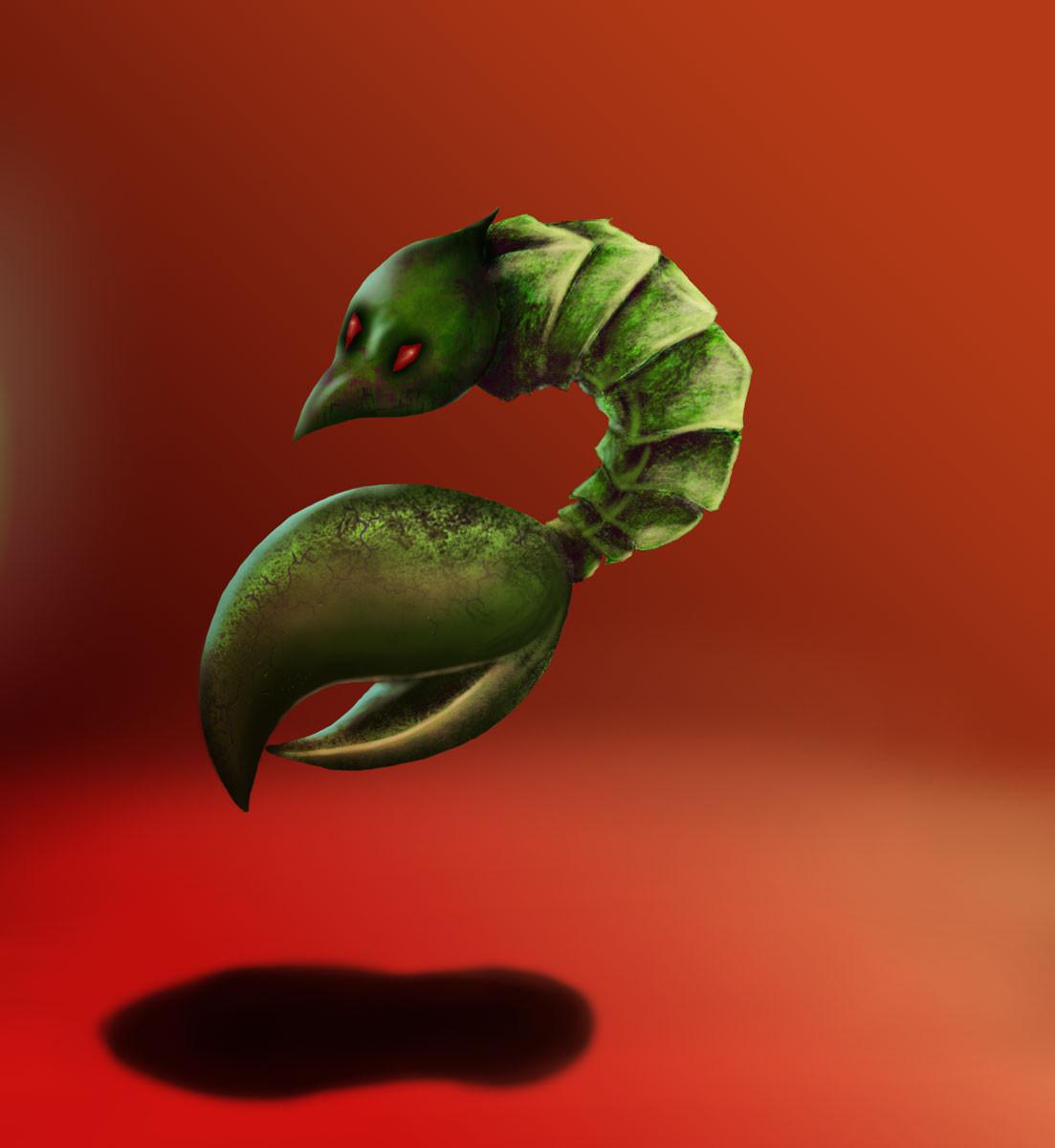 """Chara Design """"Veinocut"""" Virus"""
