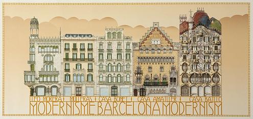 модернизм в Барселоне, архитектура Барселоны