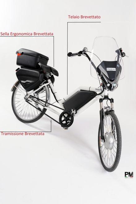 bici-elettrica-Pmzero-Welness-Bike-diagonale