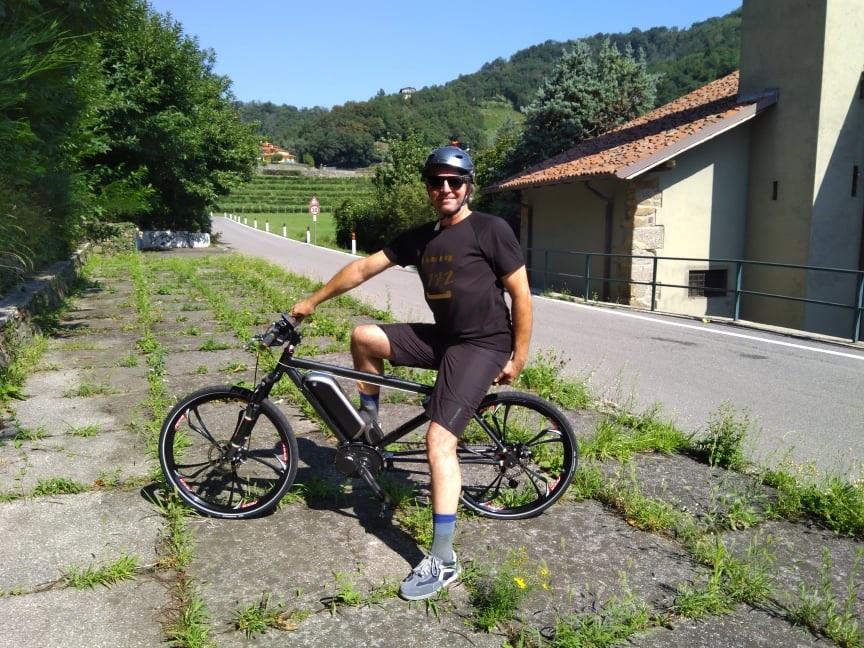 Bicicletta-elettrica-Pmzero-Marco-Mazza-Inventore-Collaudatore