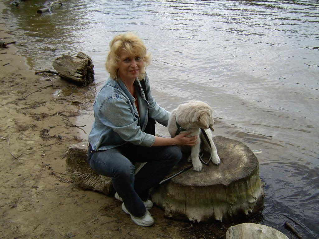 Da Vinci meine 2. große Hundeliebelebte zu diesem Zeitpunkt 2 Wochen bei mir