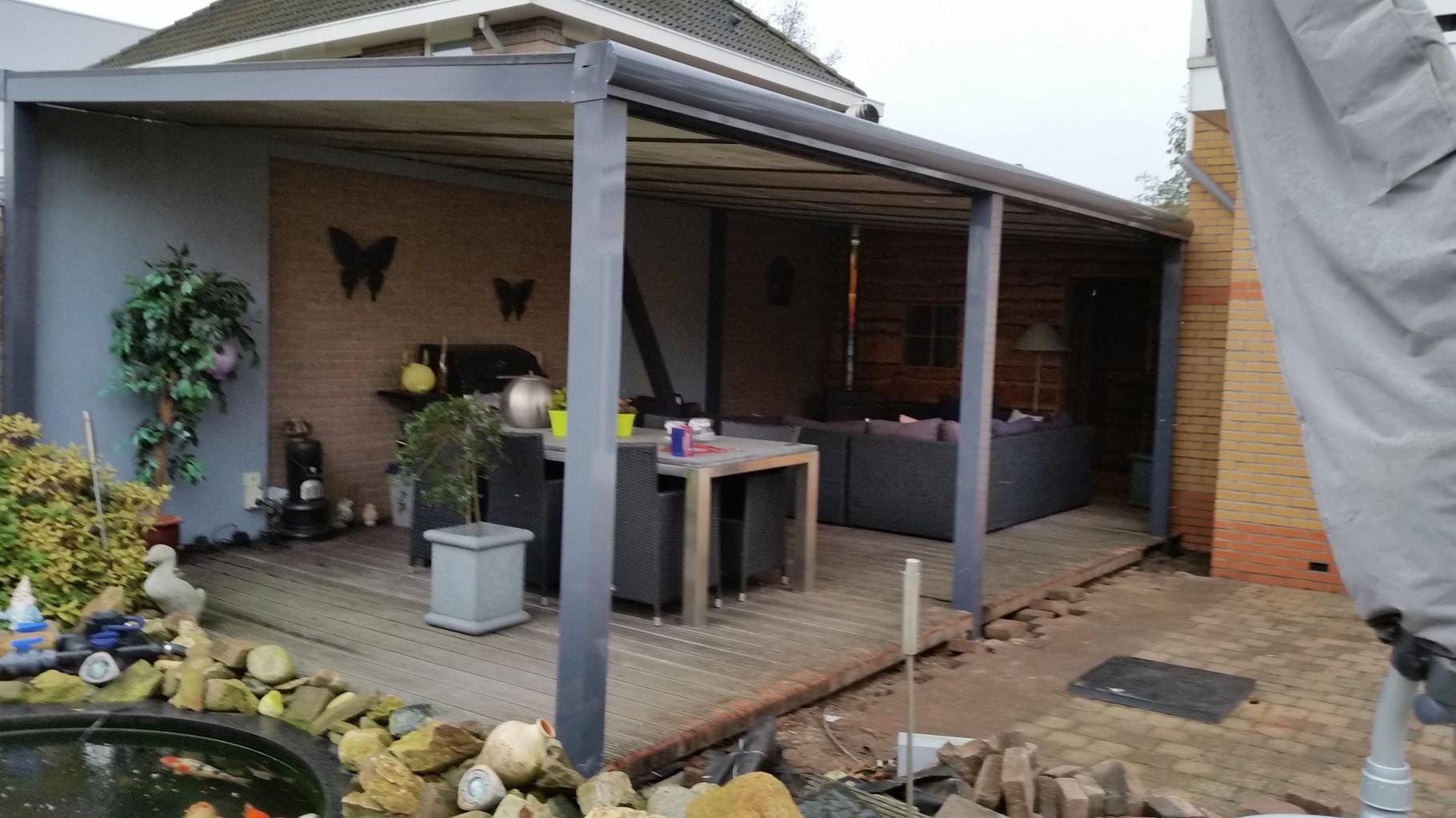 Dm veranda s almere kwaliteits maatwerk overkapping op maat dm