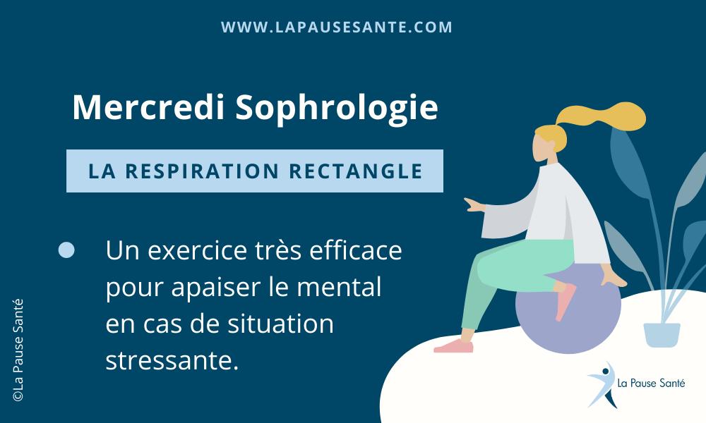 Merdredi Sophrologie : La respiration rectangle