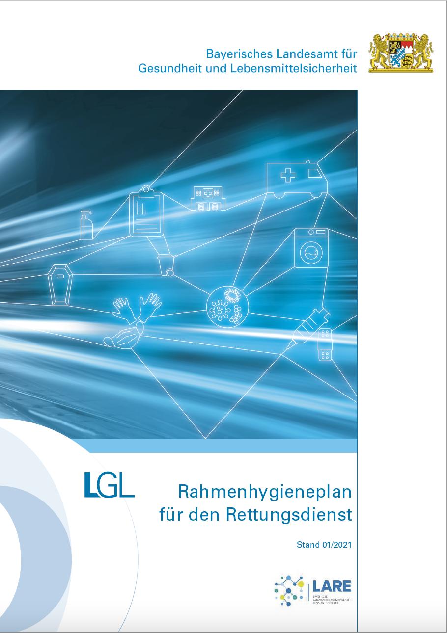 Rahmenhygieneplan Rettungsdienst Bayern