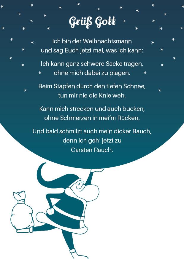 Physio Corpore Weihnachtskarte (Text)