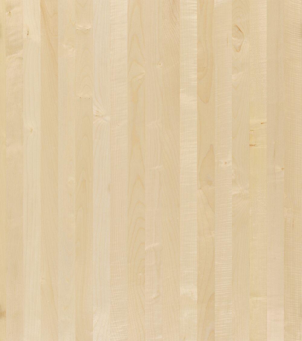 1- Schicht Massivholzplatte Birke A/B select Oberfläche roh