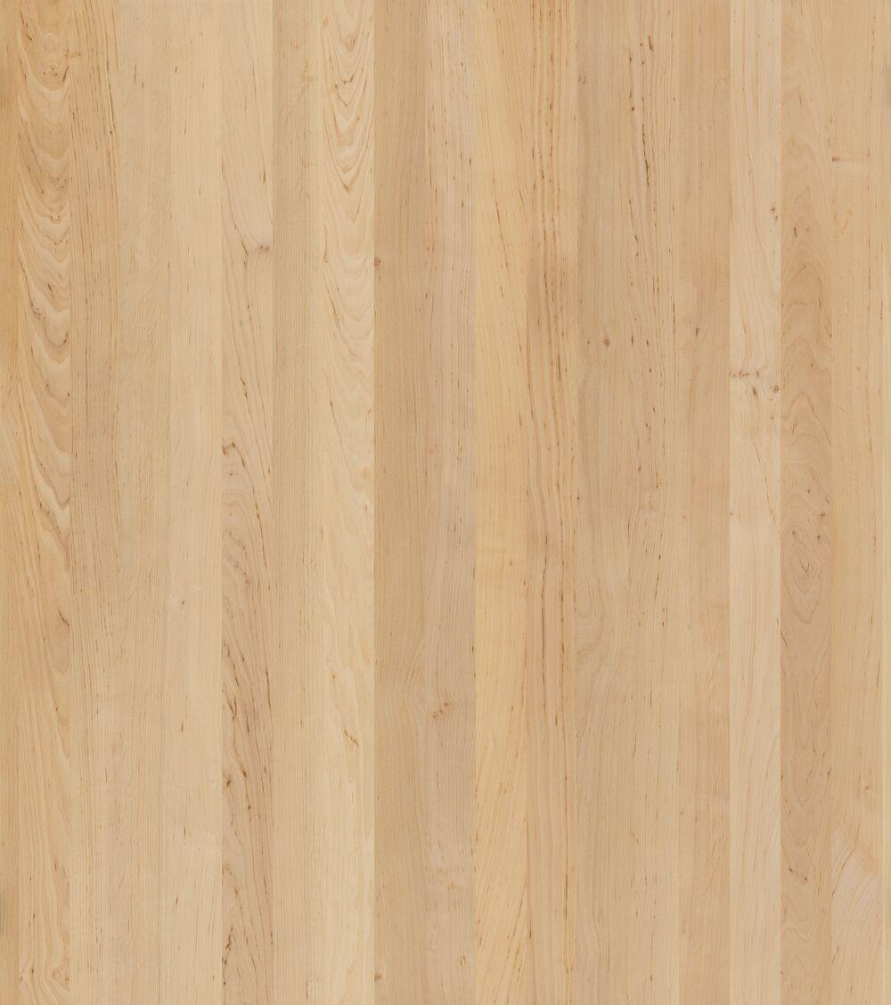 3- Schicht Massivholzplatte Erle roh