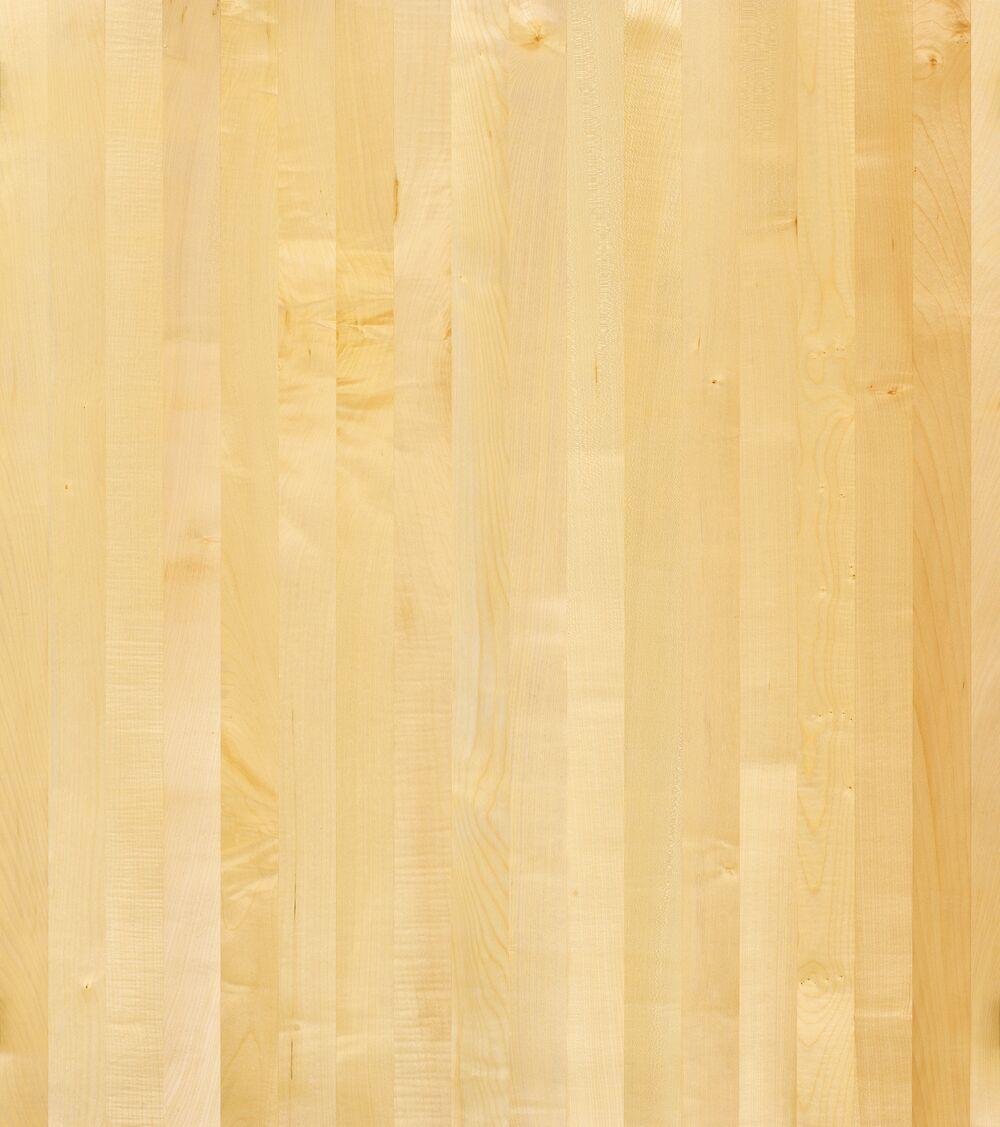 1-Schicht Massivholzplatte Ahorn europ. A/B select Oberfläche geölt (DG)