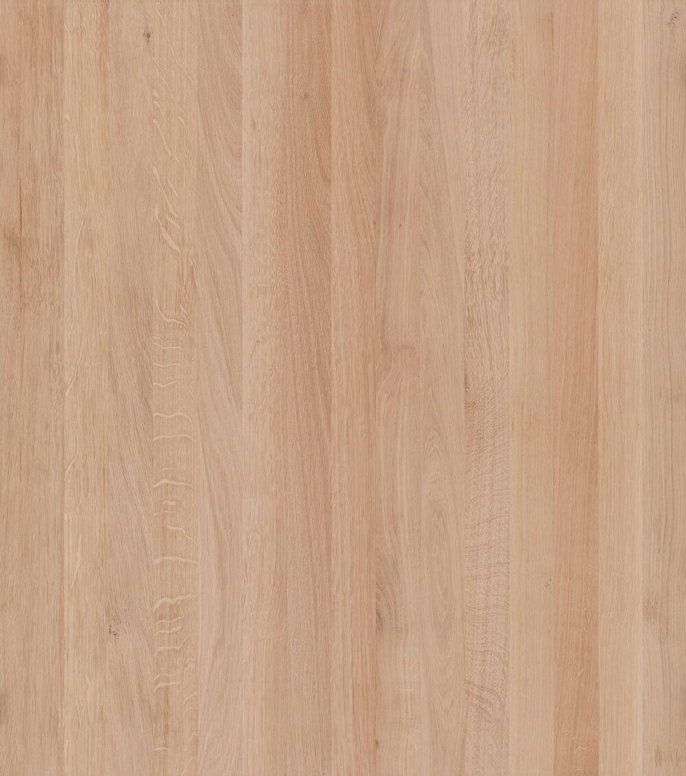 Eiche A/B select, Oberfläche roh (DG)
