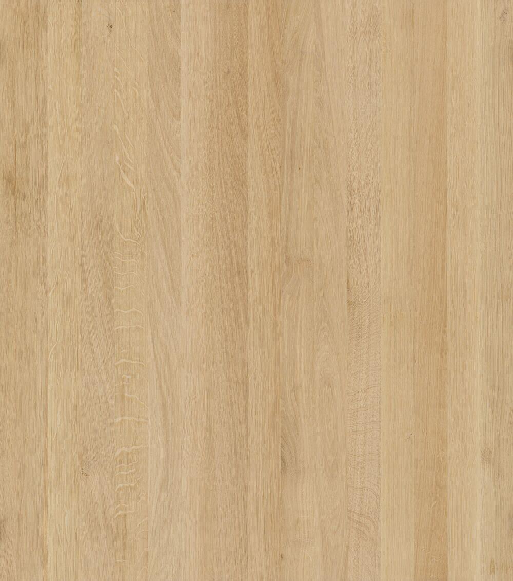 3- Schicht Massivholzplatte Eiche roh