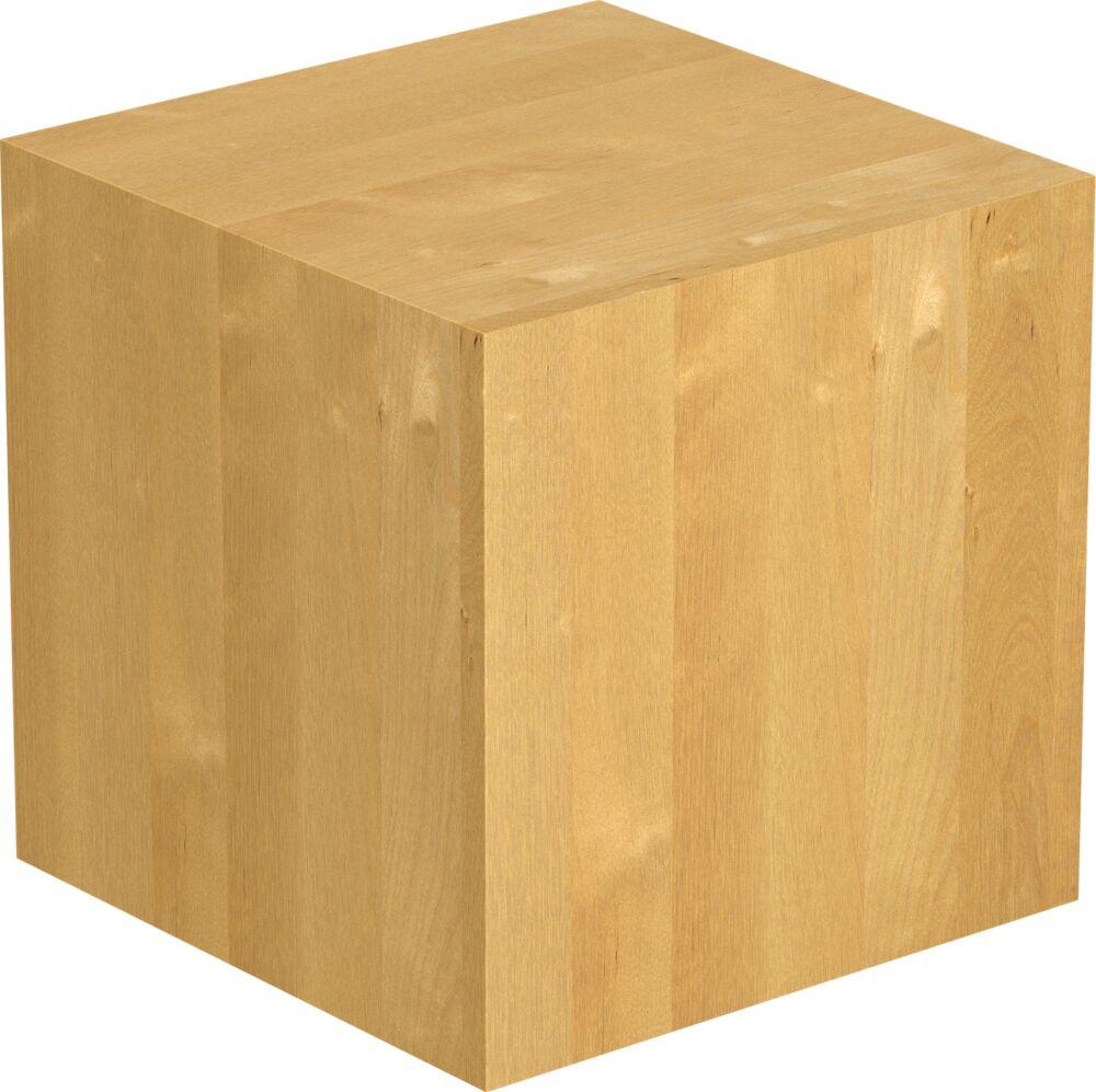 1- Schicht Massivholzplatte Birke A/B select Würfel geölt