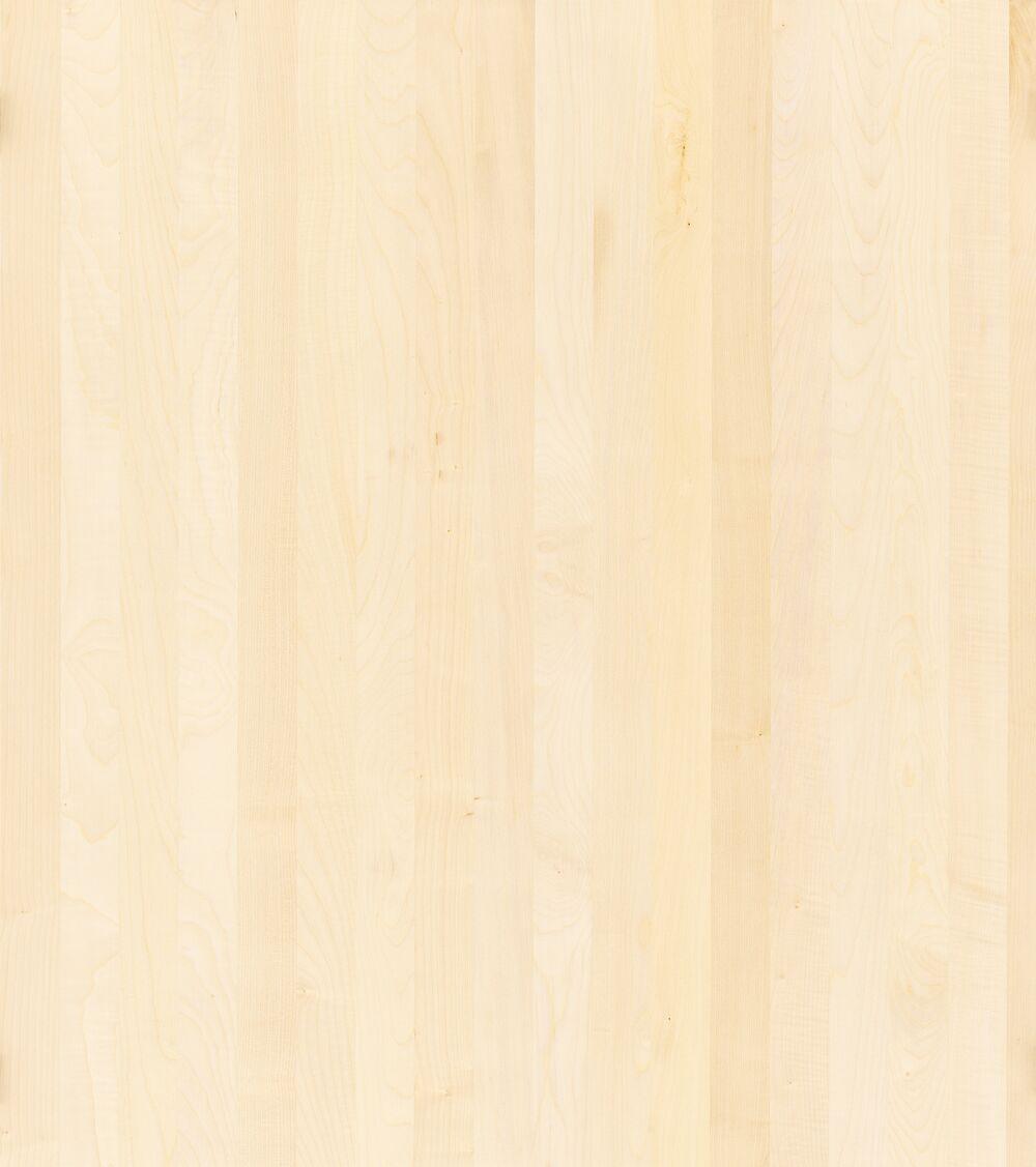 1-Schicht Massivholzplatte Ahorn europ. A/B select Oberfläche roh (DG)