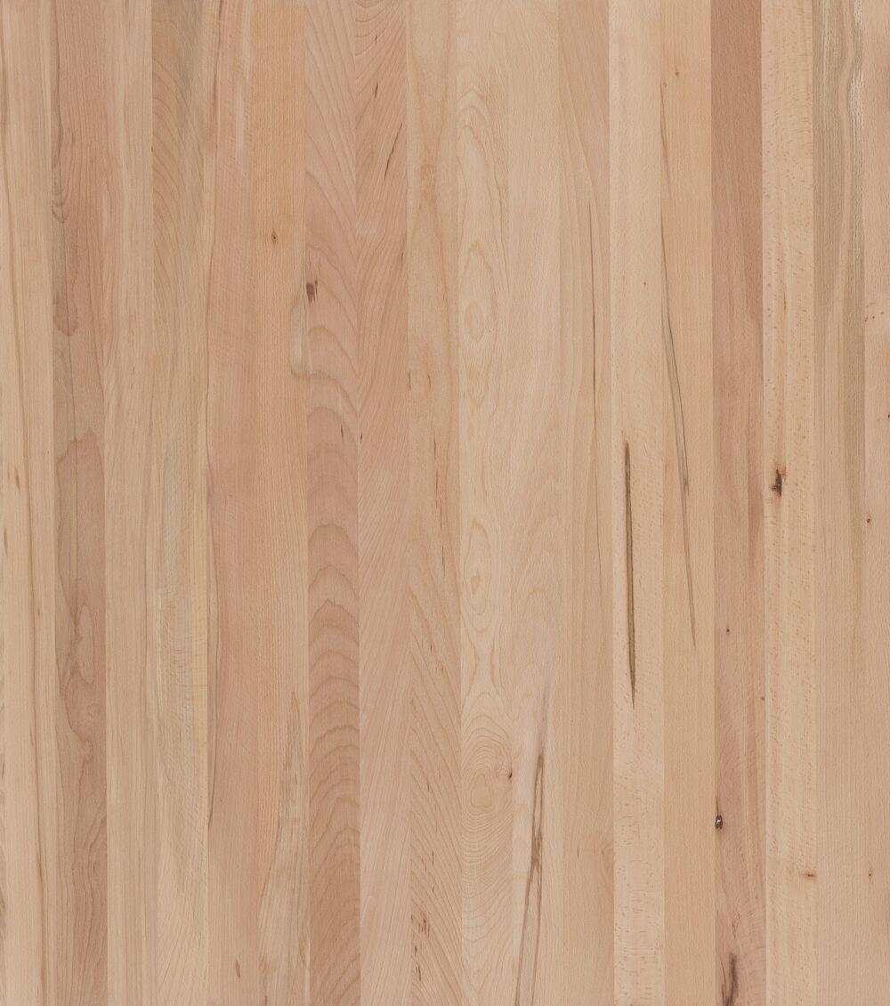 3- Schicht Massivholzplatte Kernbuche ged. roh