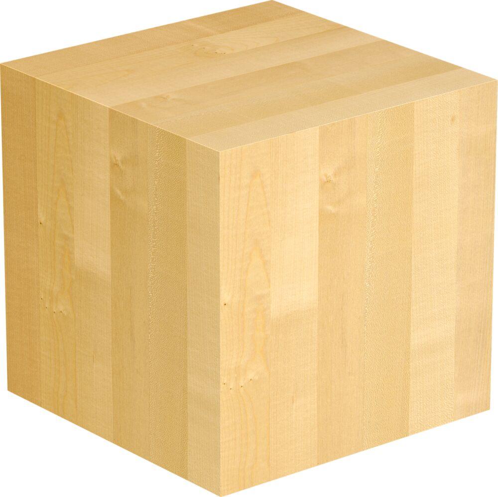 1-Schicht Massivholzplatte Ahorn europ. A/B select Würfel Oberfläche geölt (DG)