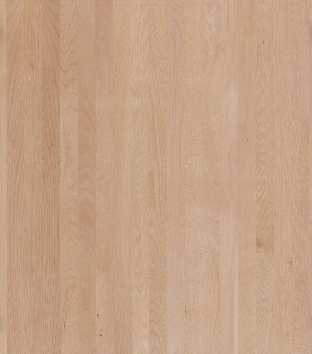3- Schicht Massivholzplatte Buche ged. roh
